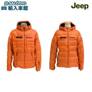【 JEEP 純正 クーポン対象 】 Jeep® Renegade テクニカルジャケット サイズ:メンズ:M-XL レディース:S-M / イタリアのウエアメーカー Renegadeフード付きダウンジャケット DKB製 ジープ コレクション ロゴ入り