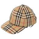 【期間限定10%OFF+5倍】バーバリー/BURBERRYロゴアップリケ ヴィンテージチェック ベースボールキャップ・トラッカーキャップ・帽子(アーカイブベージュ)8026929 A7026/ARCHIVE BEIGE