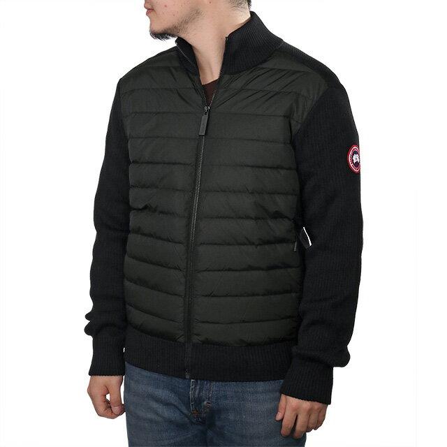 メンズファッション, コート・ジャケット PT5CANADA GOOSELHYBRIDGE KNIT JACKET ()6830M 61BLACK