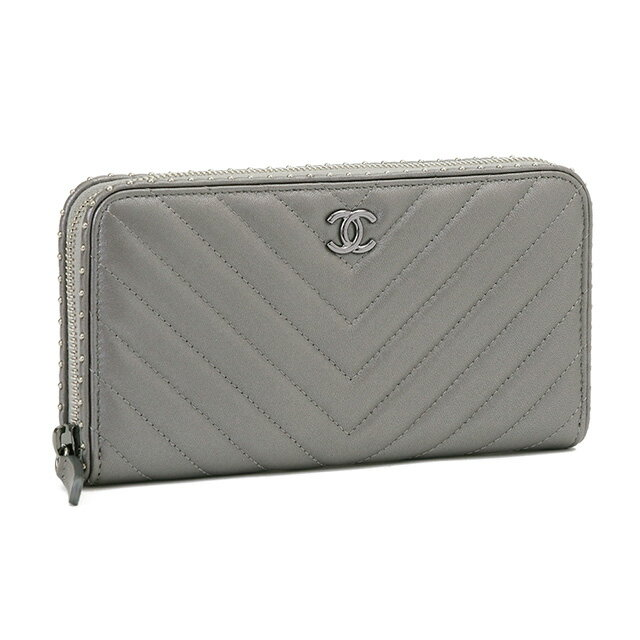 CHANEL wallet CHANEL SILVER()A81218 Y33313 0B787...