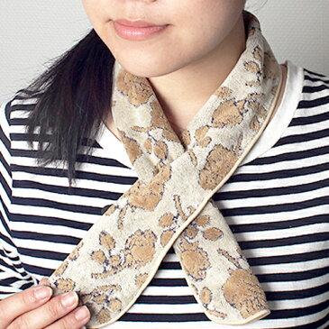 今治産 タオルマフラー ファッションハーフマフラー(日本製 国産 今治製) 名入れ・刺繍は要別途料金