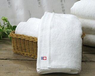 【今治タオル】今治生まれの白いタオルフェイスタオル《専用袋入り》【今治タオル認定商品】