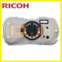 アウトドア リコー 【送料無料】 防水 【***特別価格***】 オレンジ WG-50 デジカメ 耐寒 耐衝撃 【リコー WG-40の後継機】 RICOH SDHCカード4GB付き 防塵