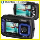 ケンコー・トキナーKenkoTokinaデジカメ防水耐衝撃自分撮り防水デュアルモニターデジタルカメラDSC1480DW