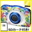 【送料無料】ニコン Nikon デジカメ 防水 耐衝撃 クールピクス COOLPIX W100 マリン【楽ギフ_包装】【***特別価格***】