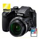 今ならSDカード8GB・カメラケース差し上げます【送料無料】Nikon・ニコンB500BKチルト式液晶光学40倍ズームデジカメCOOLPIXB500ブラック【楽ギフ_包装】【***特別価格***】