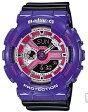 【送料無料】【国内正規品】CASIO・カシオ BABY-G 腕時計 ブラック×紫 BA-110NC-6AJF【ラッピング無料】【楽ギフ_包装】