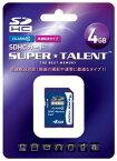 SUPER TALENT SDHCカード4GBクラス10 ST04SDC10【***特別価格***】