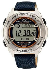 【送料無料】CITIZEN・シチズン時計Q&Q電波ソーラー腕時計MHS7-320【楽ギフ_包装】【***特別価格***】