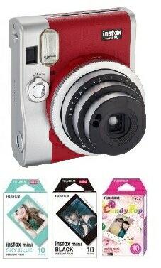 フィルムカメラ, インスタントカメラ 1 FUJIFILM 90red instax mini90 NEO CLASSIC 90