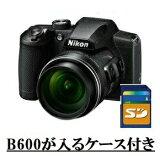 今ならカメラケース・SDHCカード8GB差し上げます【送料無料】Nikon・ニコン B600BK 光学60倍ズーム1440mmデジカメ COOLPIX B600 ブラック【楽ギフ_包装】