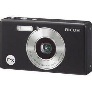 [デジカメ合皮ケース付き] 送料無料 リコー 光学5倍 防水デジタルカメラ RICOH PX ブラック 【after0307】