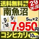 【新米】南魚沼産コシヒカリ 10kg(5kg×2) 29年産 新潟産 米 【送料無料】(沖縄を除く)