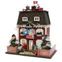 ビリードールハウスキット8818ウッディハウスコレクションクリスマスハウス【お取り寄せ商品】【ドールハウス、手作りキット、ジオラマ】