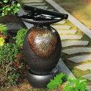 新未来創造で買える「【送料無料】信楽焼 屋外用水琴窟 琴音 yagai-180(雨流し【メーカー直送】【代引き/同梱不可】【伝統工芸品紫香楽焼】」の画像です。価格は198,000円になります。