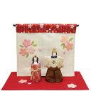 リュウコドウ 1-759 雛人形 桜日和 立雛【お取り寄せ商品】おしゃれ インテリア 雛人形 ひな祭り お雛様 ひな人形 ひな壇 雛飾り