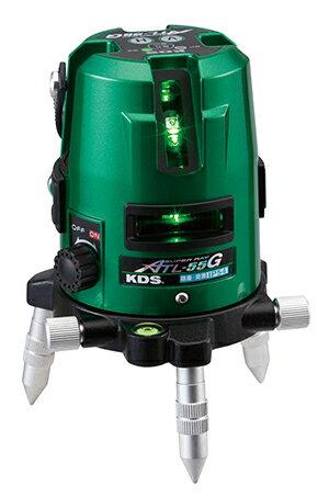 KDS レーザー墨出し器 スーパーレイ ATL-55G 抜群の視認性を誇る高輝度グリーン 本体のみ3方向たち/水平/地墨/鉛直 [送料無料][代引不可][北海道,沖縄は送料別途1,080円]:イマジネットで!