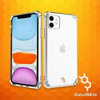 """エアバンパー付きiPhone11用ソフト透明保護ケース(6.1"""")"""