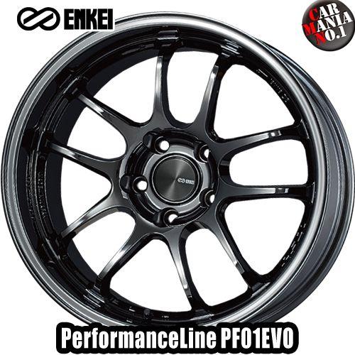 タイヤ・ホイール, ホイール (4) 179.5J 0 5114.3 ENKEI() PF01EVO SBK 17 5 P.C.D114.3 4 PerformanceLine