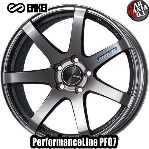 タイヤ・ホイール, ホイール 189.5J 25 5114.3 ENKEI() PF07 Dark Silver 18 5 P.C.D114.3 1 PerformanceLine