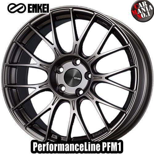 (4本セット) 16×6.5J +45 4/100 ENKEI(エンケイ) パフォーマンスライン PFM1 カラー:Dark Silver 16インチ 4穴 P.C.D100 ホイール新品4本 PerformanceLine