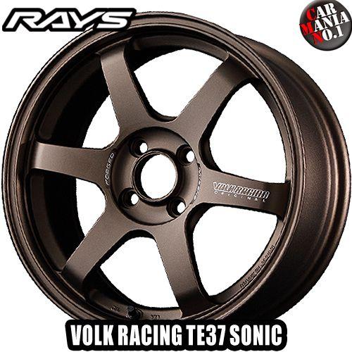タイヤ・ホイール, ホイール 1030 P134 RAYS() TE37. 167.0J 25 4100 BR 16 4 P.C.D100 FACE-4 4 VOLK RACING TE37 SONIC.
