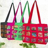 【新商品!】グアテマラ刺繍のトートバッグ(手刺繍)