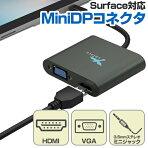 MiniDPtoHDMI&VGA変換アダプターforSurfaceドッキングサプライHDMIVGA