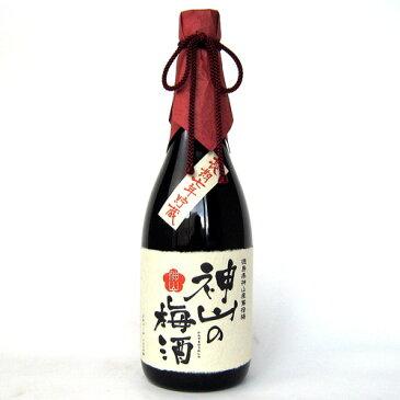 神山の梅酒 720ml(徳島県神山産鶯宿梅)(長期7年貯蔵)