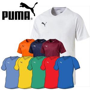 ネコポス プーマ PUMA メンズ ユニセックス Tシャツ LIGA ゲームシャツ コア 半袖 男女兼用 703638