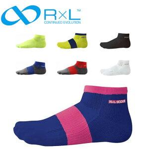 アールエルソックス メンズ レディース ランニング マラソン 靴下 ウスジサユウベツ ソックス 吸汗性 抗菌防臭 左右立体構造 アーチサポート 日本製 ユニセックス TRR10G R×L socks