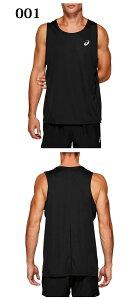 ネコポス アシックス トレーニングウエア メンズ レディース ランニングシングレット 2011A082 asics トップス ノースリーブシャツ ジョギング マラソン