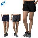 ネコポス アシックス レディース トレーニングウエア W'Sランニングショーツ 2022A004 asics フィットネス ウォーキング ジョギング ショートパンツ