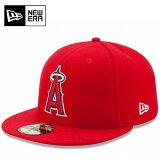 ☆ニューエラ 大谷翔平 エンゼルス キャップ NEW ERA オーセンティックコレクション 59FIFTY MLB メジャーリーグ フラットバイザー あす楽