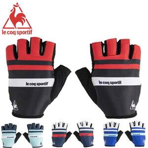 ネコポス ルコック スポルティフ 手袋 メンズ グローブ Print Glove ベーシック 機能性 デザイン性 伝統のボーダー アクセサリー 用具 用品 小物 ウエア サイクリング 自転車 トレーニング S-L le coq sportif QCBPGD02