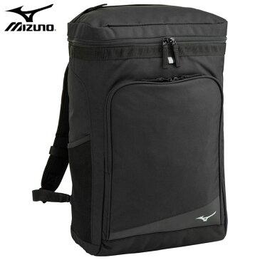 ミズノ スポーツバッグ チームバックパック ボックス型 約30L MIZUNO 33JD0104 スクエアバッグ 内部小分け用仕切り付き リュック