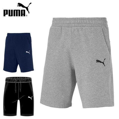 プーマ スポーツウエア メンズ TEAMGOAL23 カジュアル ショーツ PUMA 656981 ハーフパンツ シンプルなキャットロゴ スウェット トレーニングパンツ