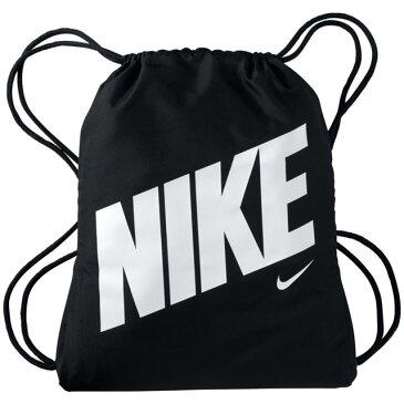 ネコポス ナイキ スポーツバッグ キッズ YA グラフィック ジムサック NIKE BA5200 ナップザック ギアを整理して収納できる大容量 ブラック