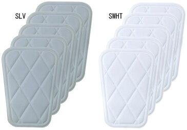 DESCENTE (デサント) 野球・ソフト アーム・フットガード C-022S ヒザパッド (大) 5個セット スライディングパッド 保護パッド