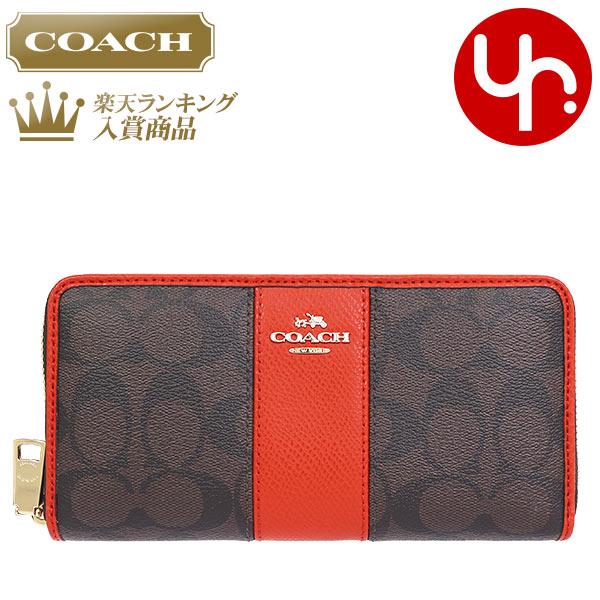 05f7e561d056 コーチ COACH 財布 長財布 レビューを書くと次回送料無料 F52859 ブラウン×カーマイン