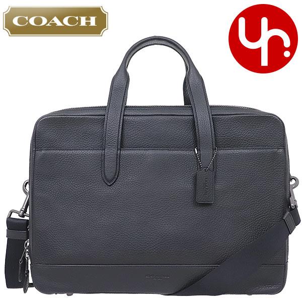 dffa313f68e9 コーチ COACH バッグ ビジネスバッグ F27617 ブラック 特別送料無料 コーチ ハミルトン ペブルド レザー ダブル ジップ
