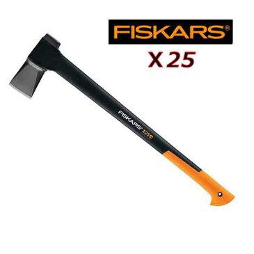 【 送料無料 】 フィスカース 斧 X25 7854 FISKARS 薪割り