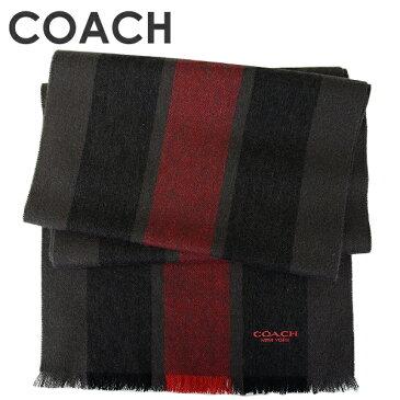 コーチ COACH メンズ 送料無料 マフラー F86547 OXB(オックスブラッド)