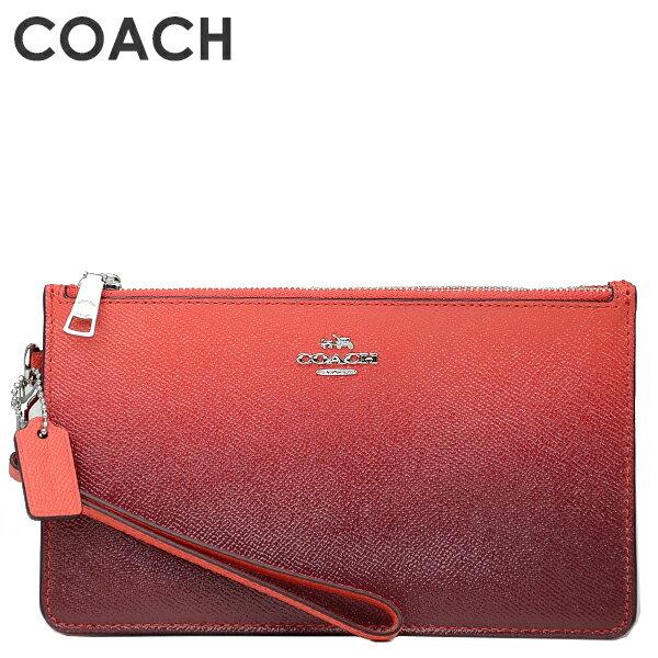 b9951c15d959 コーチ COACH 財布 グラデーションデザインがおしゃれなリストレット?片側には紙幣やクレジットカード類を、反対側には携帯や小物類を収納できます。取り外し可能な ...