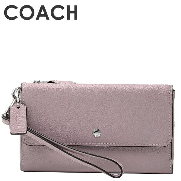 9349e4ff474d コーチ COACH レディース 財布 リストレット 29609 SVNBC(アイスパープル) ポリッシュド ペブル レザーを使用したコンパクトな リストレット