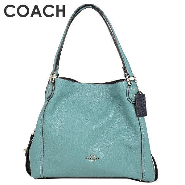 adb158ee862a コーチ COACH レディース バッグ ショルダーバッグ 57125 SVMR(マリン) 美しい光沢のあるレザーを使用したショルダーバッグ
