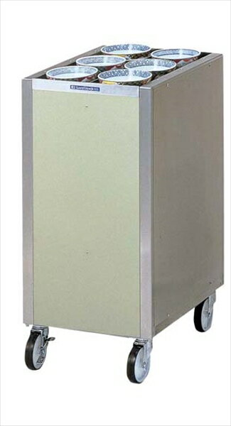 日本洗浄機  CLWシリーズ多列カート型ディスペンサー  CL16W6(保温なし)  6-0776-0208  HDI6008