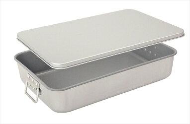 アカオアルミアルマイトFC米飯缶(蓋付)426-0147-0201ABI2801