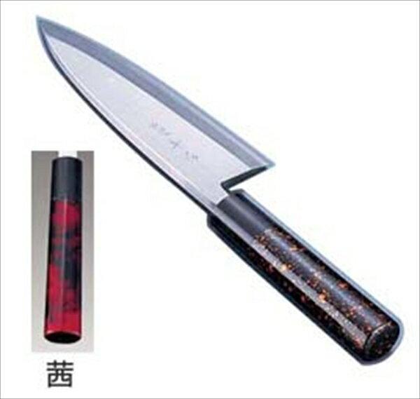 インテックカネキ  歌舞伎調和庖丁 忠舟 出刃  16.5cm 茜  6-0275-1006  ATD0206