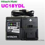 日立工機 急速充電器 UC18YDL 14.4/18V(BSL)バッテリー対応【純正/新品/箱なし/取説なし】★USB対応★ ※UC18YSL3の後継機種(さらに約10%急速充電)